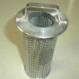 Filtro em caixa reusável limpável do cilindro do filtro de água do aço inoxidável/