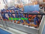 Itália Running Hydraulic Hose Protective Sheath PE Spiral Wrapping Band Linha de produção