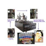 新しいジュースか風味を付けられたジュースの小さい手動タイプカートンの充填機(BW-500)