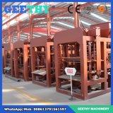 Qtj4-25自動具体的な空のブロックの煉瓦機械