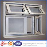 Окно Casement высокого качества оптовой продажи фабрики Кита алюминиевое
