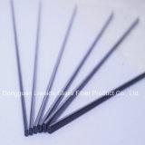 Fibra sólida Rod/barra redondos, fibra poste del carbón de la alta calidad del carbón
