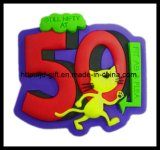 Popular 최신 3D PVC Carton Promotion Gifts Fridge Magnet