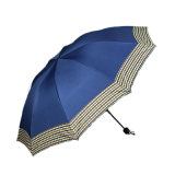دليل استخدام مفتوحة زاهية 3 ثني مظلة مع عادة طبعة