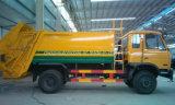 Basura Wangon de LHD y de Rhd 12 toneladas a 15 toneladas de carro de basura comprimido para la venta