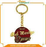 Logotipo Keychain do negócio do projeto da cavidade do cliente