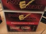 Batterie de voiture d'acide de plomb exempte d'entretien de DIN44mf 12V44ah
