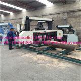 De horizontale Machine van de Zaagmolen van de Lintzaag Draagbare voor het Houten Werken