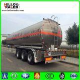 45000 litros de petrolero del petróleo crudo que transporta el acoplado del carro de combustible