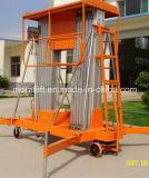 10m soulevant la plate-forme de levage d'alliage d'aluminium de hauteur (SJYL)