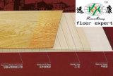 Plancher de parquet plein de plancher de natte préfinie de plancher de cendre
