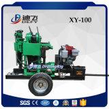 Petite machine utilisée mobile de plate-forme de forage de carottage (XY-100)