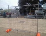 Cerca provisória galvanizada mergulhada quente da construção
