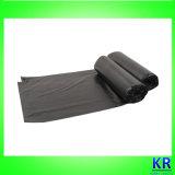 Sacs à ordures en HDPE noir sur vente chaude