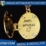 De Gouden Medaille van de Hoogste Kwaliteit van het Medaillon van het Email van de douane voor Agenten