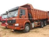 Sinotruk 상표 6X4 구동 장치형 덤프 트럭