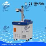 Láser de fibra Máquina de la marca grabado de la placa de grabado en metal