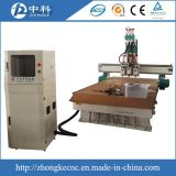 3대의 헤드 압축 공기를 넣은 CNC 대패 기계