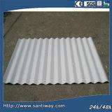 Curvar la azotea acanalada galvanizada de la placa de acero del material para techos