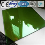 Galleggiante tinto/libero blu scuro/ha temperato il vetro riflettente per costruzione