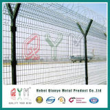 Y de Omheining/het Poeder van de Luchthaven van het Type bedekte het Gelaste Comité van het Staal van het Netwerk van de Draad met een laag