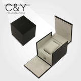 カスタムPUの革宝石類の包装ボックス
