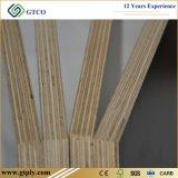 faisceau d'eucalyptus de contre-plaqué fait face par film phénolique de la colle F17 de 1200mm*1800mm*17mm utilisé pour Construcation (27mm)