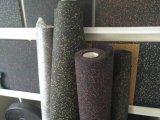 Резиновый плитки ковра с цветастыми зернами EPDM