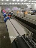 Tela média que faz o tear do jato do ar da maquinaria de matéria têxtil