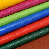 Выбитая кожа Faux PU Graining камушка ткани для мешков Wowen, сумок, ботинок