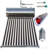 Calefator de água solar térmico do aço inoxidável (coletor solar do sistema de aquecimento)