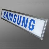 Rectángulo ligero impermeable delgado de aluminio de la publicidad al aire libre LED