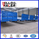 3 assi 40FT Flat Bed Trailler con Front Armor