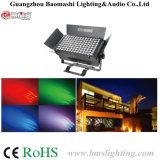 luz de la cara de 112*3W RGBW LED