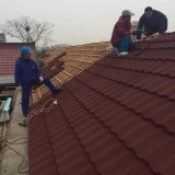 직류 전기를 통하는 건물 기와 돌 금속 기와 가격 장을 지붕을 달기