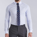 남자 100%Cotton 긴 소매 이집트 면 남자 셔츠를 위한 2016벌의 유행 셔츠