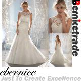 Nouvelle robe nuptiale faite sur commande de robe de mariage de lacet de sirène
