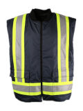 Venda por atacado Heavy Safety Safety Work Safety 3 in 1 Winter Parka com fita reflexiva de 4 ''
