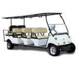 Carro de golfe de 8 Seater no parque de diversões