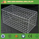 коробка 1mx0.8mx0.3m сверхмощная гальванизированная сваренная Gabion для сада (изготовление)
