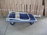 4つの車輪の頑丈なプラットホーム手トラック(pH300)