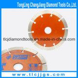ろう付けされた回状は陶磁器のための鋸歯の切削工具を