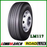 Fábrica do pneu de Longmarch, o melhor tipo chinês do pneumático do caminhão, pneu do caminhão de 315/80r22.5 385/65r22.5 13r22.5