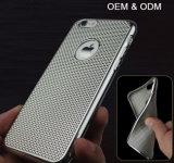 OEM Nieuwste Uiterst dun Van uitstekende kwaliteit galvaniseert het Geval van de Telefoon van de Cel TPU voor iPhone 6/6s plus