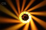 19 * pista móvil de la iluminación de la etapa de la viga de 15W LED