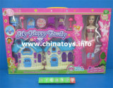 Educational Girl Doll House Furniture Set Plastic Toy (7174130)