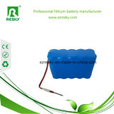 Li-IonIcr18650 14.8V 2200mAh Batterie-Satz mit Verbinder