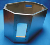 Gabinete de aço inoxidável com isolamento de madeira noice