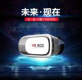 Verres 2016 visuels de la réalité virtuelle 3D en verre de Xnxx 3D de version de la boîte 1 de Vr de carton de Google Bluetooth à télécommande