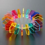 strato acrilico dello strato PMMA del perspex all'ingrosso Colourful decorativo di 10mm